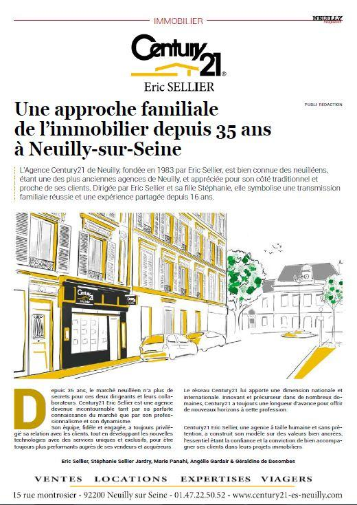 Article Neuilly Magazine